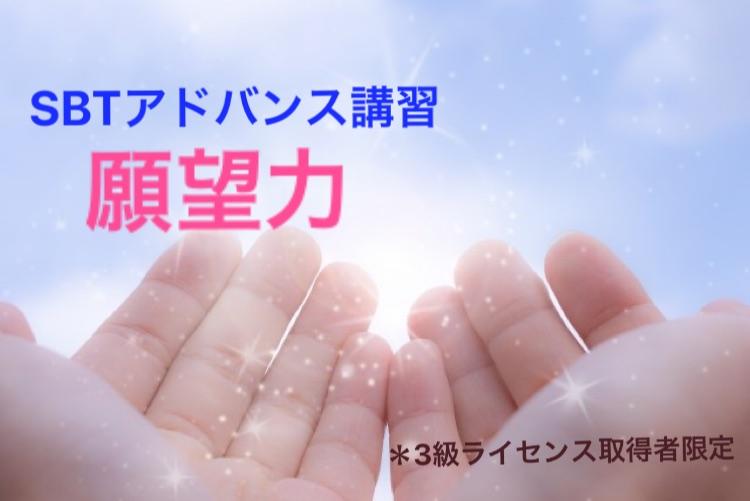 【オンライン】SBTアドバンス講座《願望力》3級受講済者限定】6/17